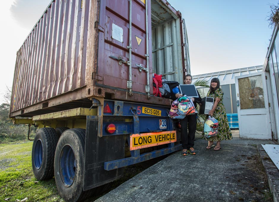 Rihoy & Son gives Tumaini Fund sixth container in time for 2015 World AIDS Day