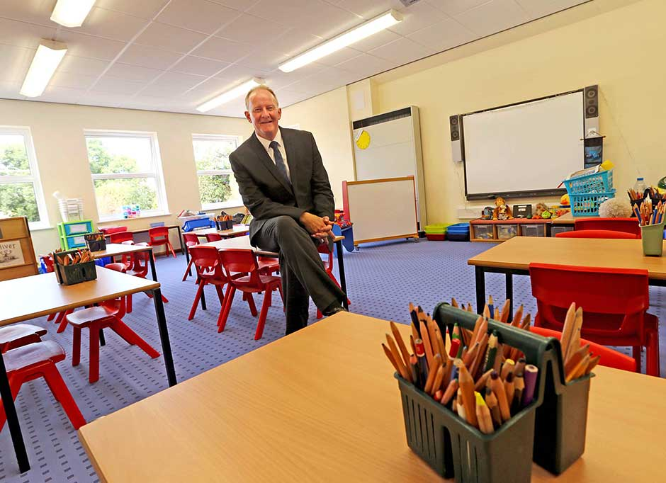 Vale Primary School ready for new term