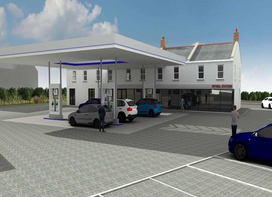 Work starts on new Co-Op En Route petrol station and retail store