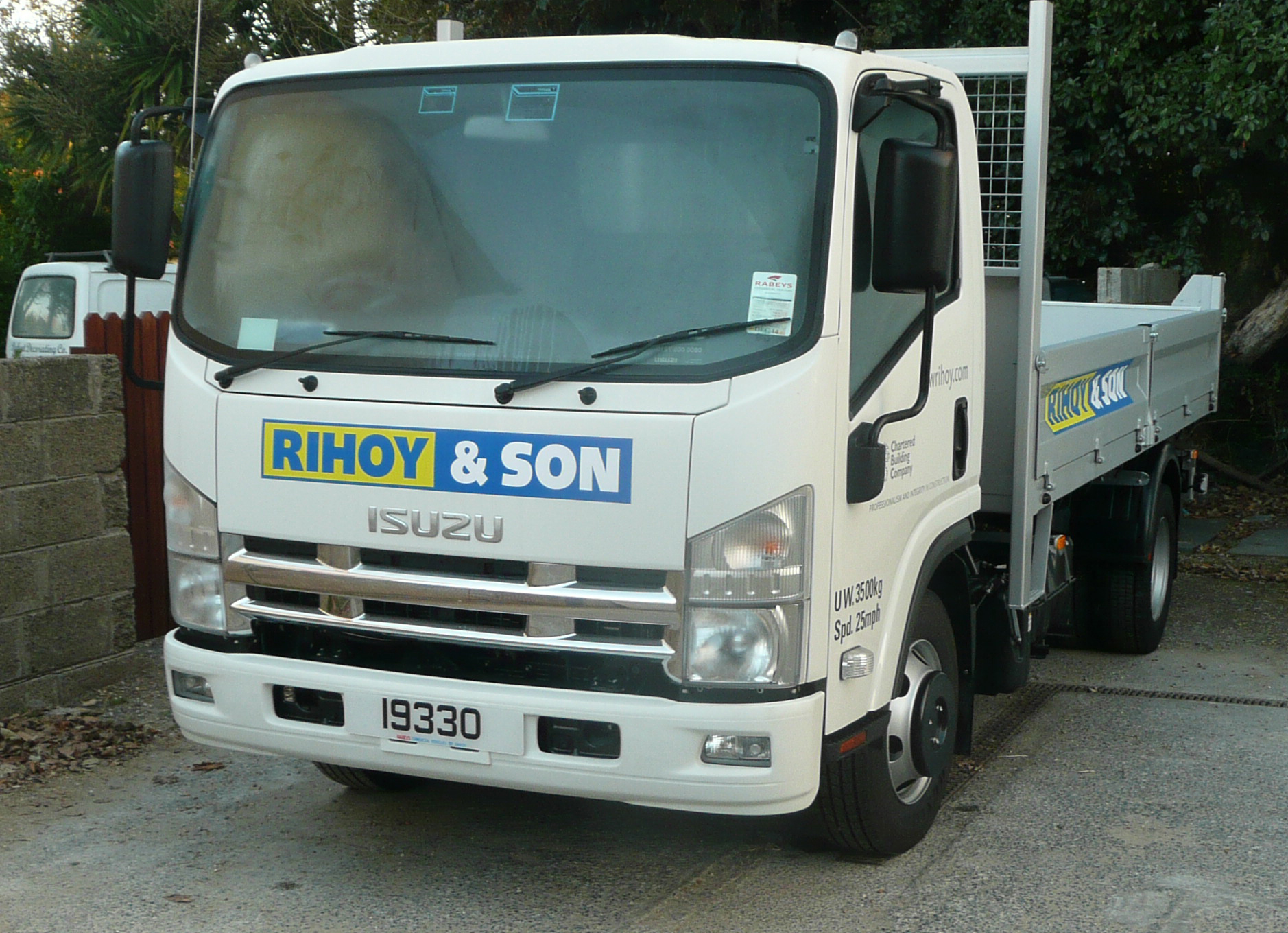 A new set of wheels for Rihoy & Son
