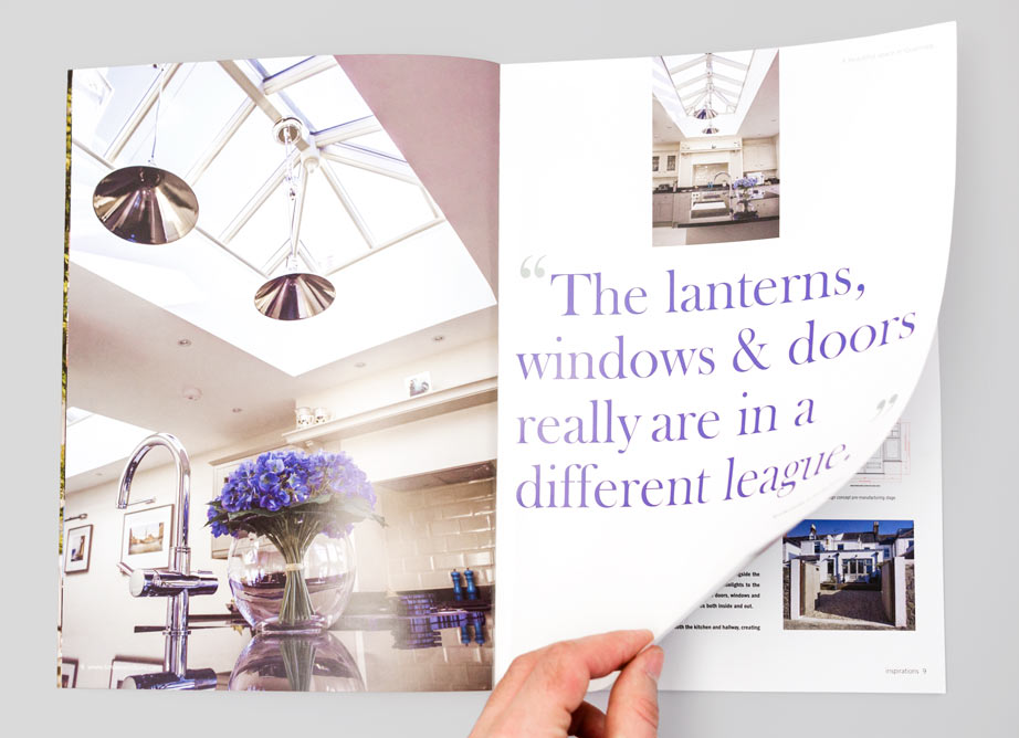Le Reposoir featured in Timber Windows magazine