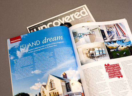 Fermain House featured in Flybe magazine