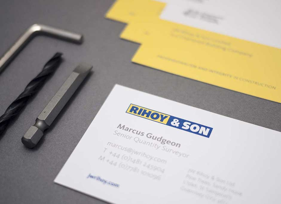 Rihoy & Son marketing material showcased