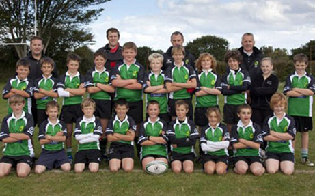 Sponsoring rugby